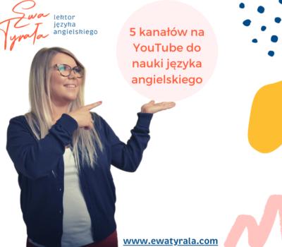 5 kanałów naYouTube donauki języka angielskiego
