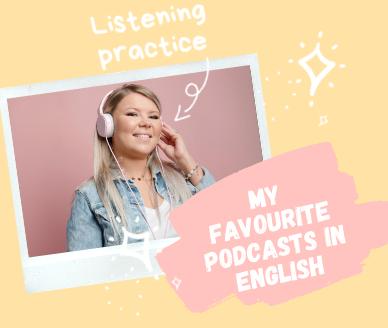 Mojeulubione podcasty wjęzyku angielskim